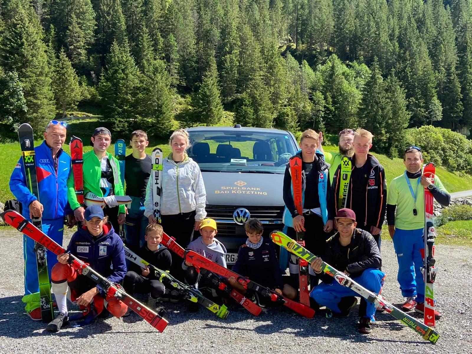 Unsere Alpine Mannschaft