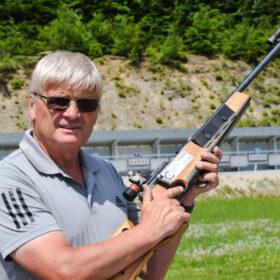 Sepp Schneider, Sportwart Biathlon