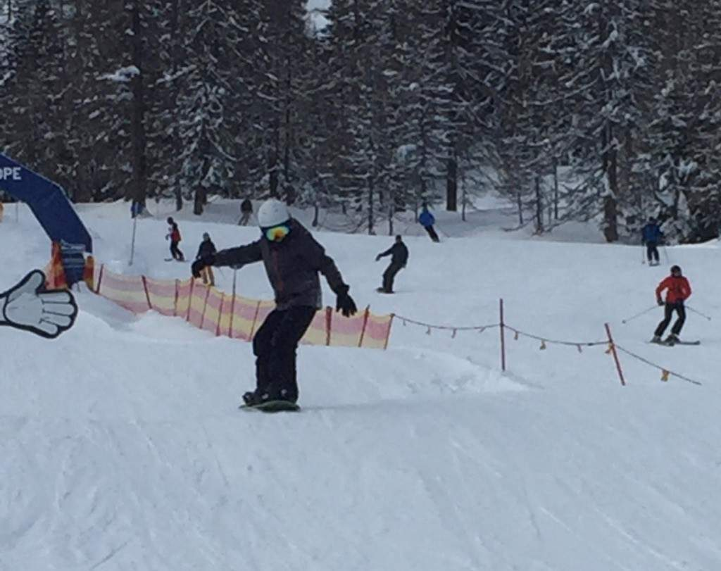Unsere Snowboard Mannschaft