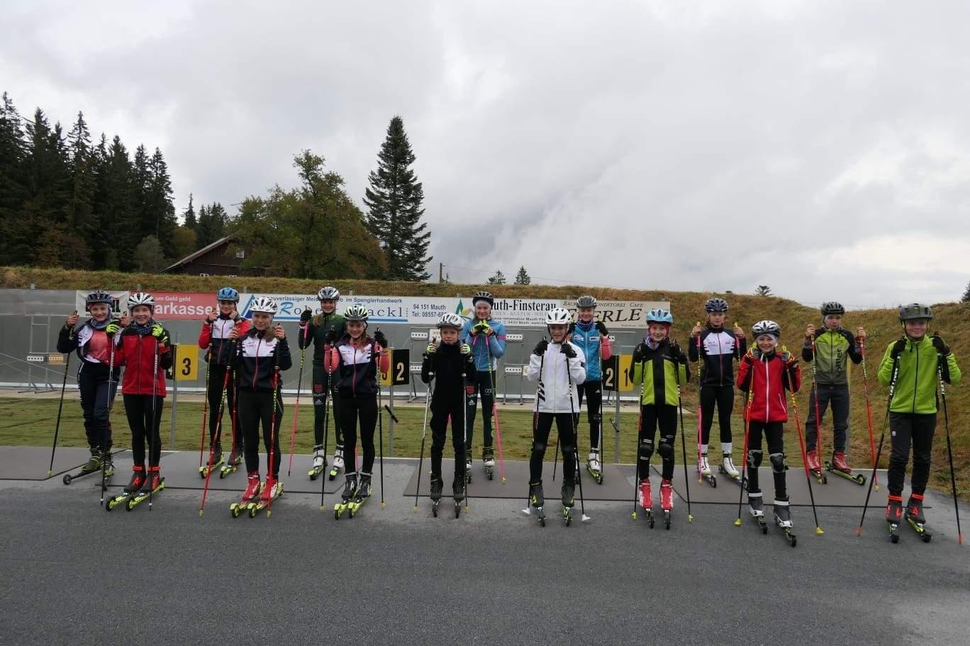 Unsere Biathlon Mannschaft