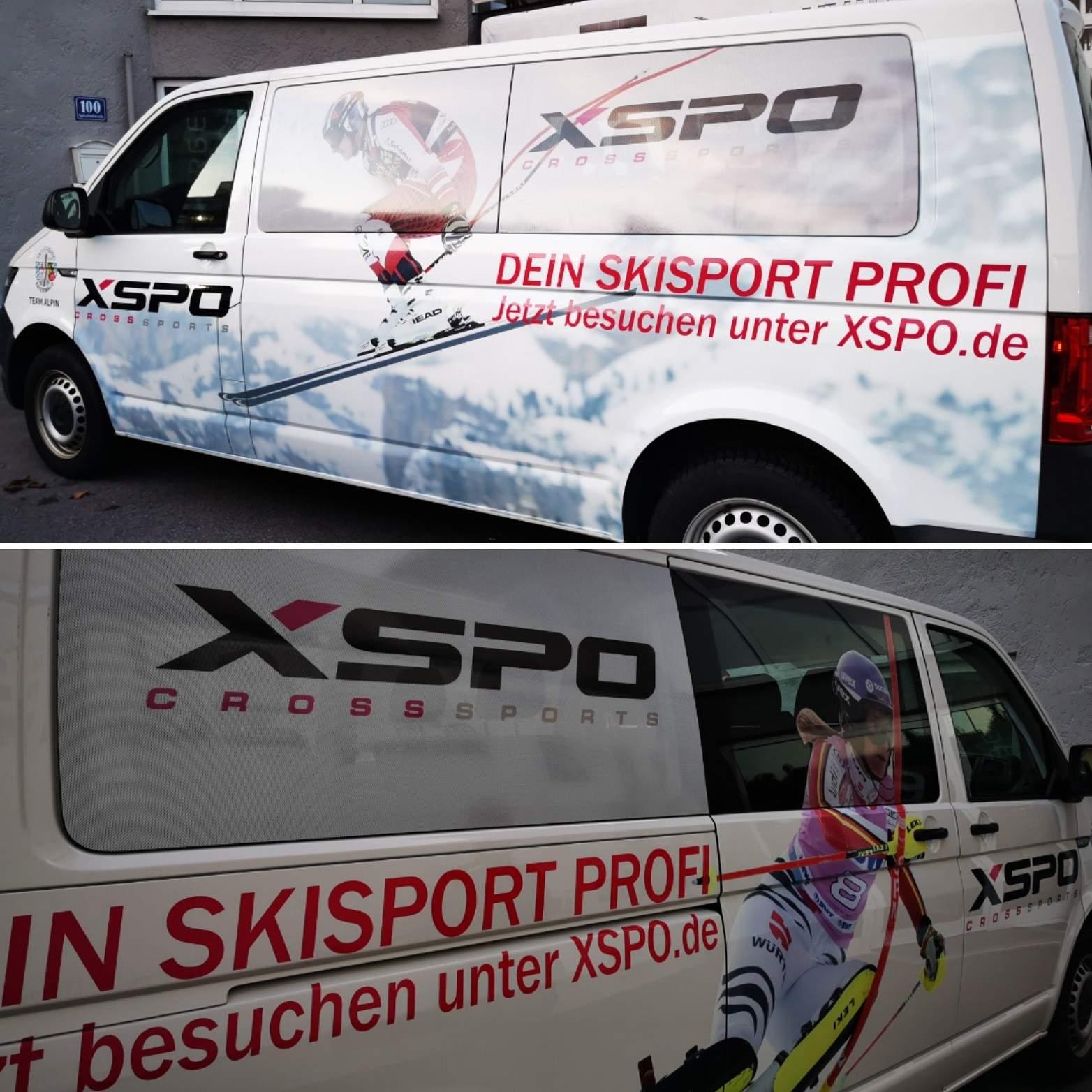 Bus Sponsoring XSPO