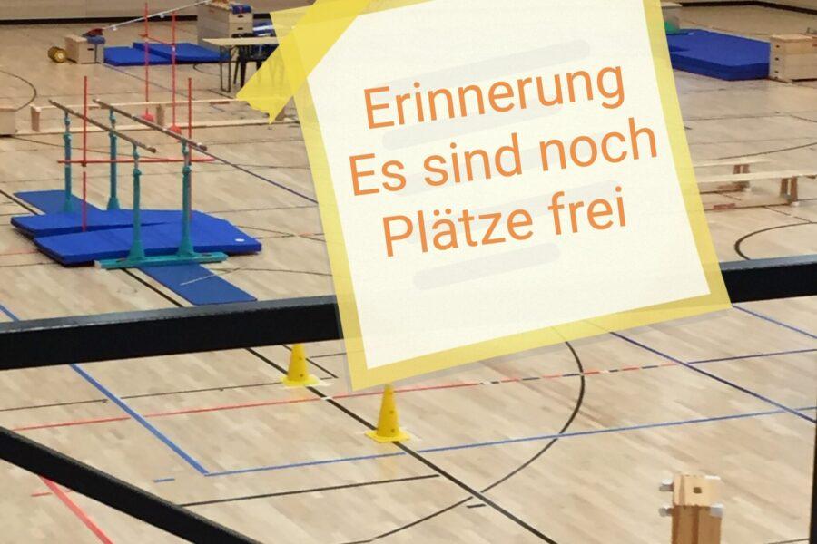 Erinnerung zur Anmeldung Skigymnastik