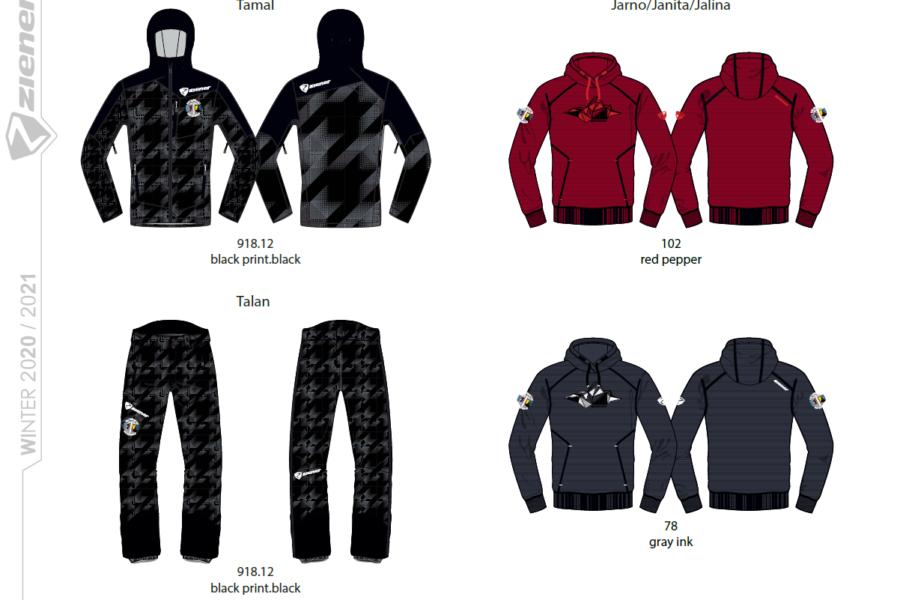 Regionaleinkleidung für den Skiverband Bayerwald!