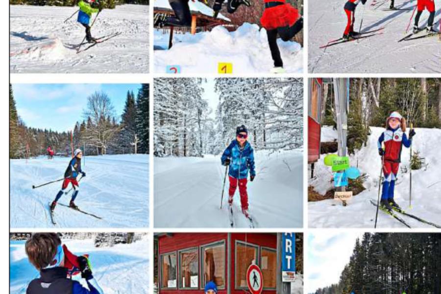 Langläufer vom Skiverband Bayerwald trainieren gemeinsam allein